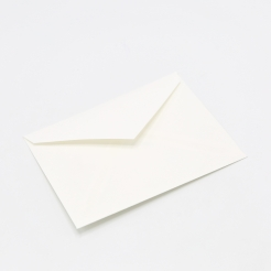 Crane's Lettra Fluorescent White Envelope A7 Inside no glue 50/pk