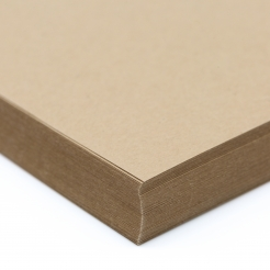 Environment Grocer Kraft Raw Finish Cover 17x11 80lb 100/pkg