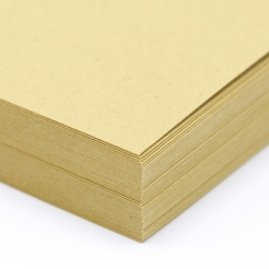 Environment Honeycomb Raw Finish Cover 8-1/2x11 80lb 100/pkg