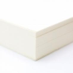 Crane's Lettra Pearl White Cover 20x26 110lb/300g 25/pkg