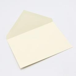 Crane's Lettra Ecru A7 Envelope Pointed Flap 50pkg