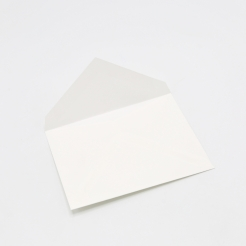 Crane's Lettra Fluorescent White A1 Envelope Pointed Flap 50pkg