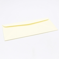 Classic Linen Envelope #10 24lb Baronial Ivory Window 500box