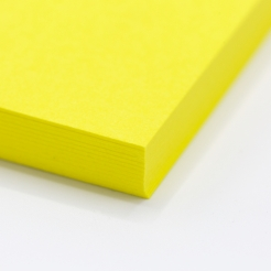 Colorplan Factory Yellow 19x25 130lb cover 25pk