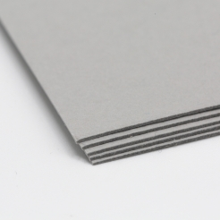 Colorplan Real Gray 8.5x11 130lb cover 48pk