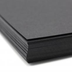 Basis Premium Cover 11x17 80lb Black 100/pkg