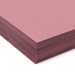 Basis Premium Cover 8-1/2x11 80lb Burgundy 100/pkg