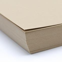 Basis Premium Cover 11x17 80lb Light Brown 100/pkg