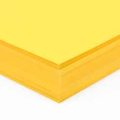Mohawk Via Safety Yellow 8-1/2x11 80lb 100/pkg