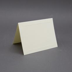 Crest 5-1/2 Baronial Cream Panel Foldover [5-1/2x8-1/2] 250/box