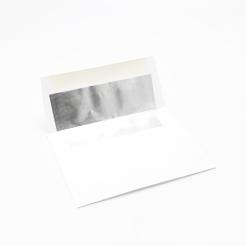 Foil Lined Silver A-2 Envelope [4-3/8x5-3/4] 50/pkg