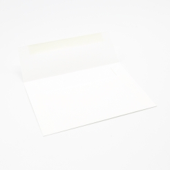 Savoy Bright White Envelope A-6 Square Flap 50/pkg