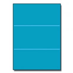 Tri-Fold Brochure 8-1/2x11 65lb Astro Celestial Blue 250/pkg