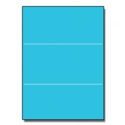Tri-Fold Brochure 8-1/2x11 65lb Astro Lunar Blue 250/pkg
