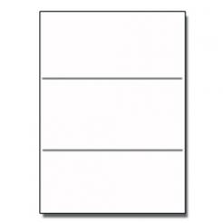 Tri-Fold Brochure 8-1/2x11 65lb Classic Crest Nat White 125pkg