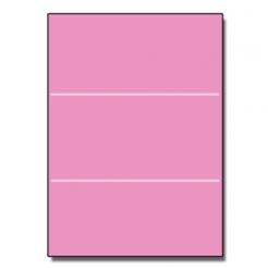 Tri-Fold Brochure 8-1/2x11 65lb Astro Pulsar Pink 250/pkg