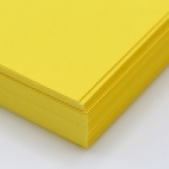 CLOSEOUT Sunburst Yellow Astrobright Cover 8-1/2x11 80lb 250/pkg