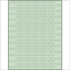 VOID if Copied Paper 8-1/2x11 24lb Green Tint 500/pkg
