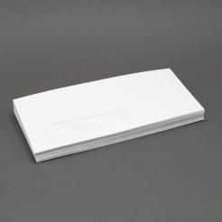 White Wove #12 24lb Window Envelope 500/box