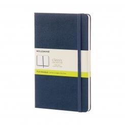 Moleskine Journal Sapphire Blue (Large Plain)