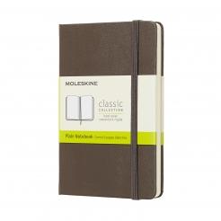 Moleskine Journal Earth Brown (Pocket Plain)