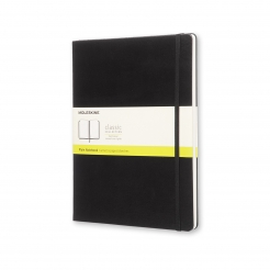 Moleskine Journal Black (XL Plain)